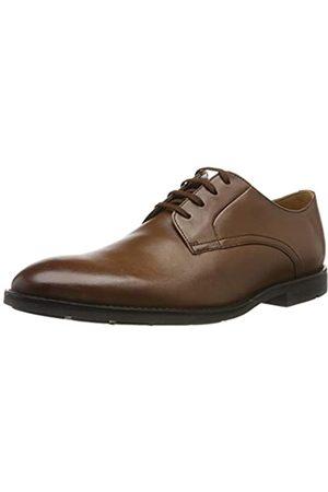 Clarks Men's Ronnie Walk Derbys, (British Tan Leather)