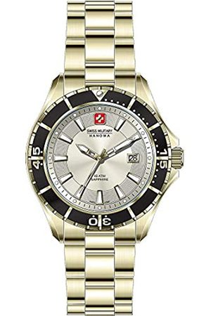 Swiss Military Hanowa Unisex Adult Analogue Quartz Watch with Stainless Steel Strap 06-5296.02.002