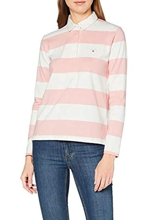 GANT Women's Original Barstripe Heavy Rugger Ls Polo Shirt