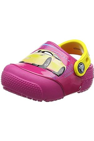 Crocs Kids' Fun Lab Lights Cars 3 Clog, (Candy )