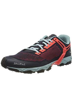 Salewa Women's Ws Lite Train K Trail Running Shoes, (Premium Navy/Fluo Coral 3993)