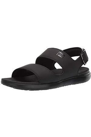 FitFlop Men's Lido II Sandal Flip Flops, ( 001)