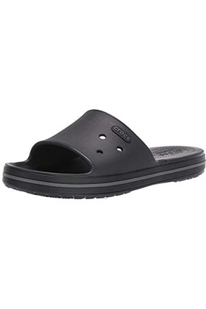 Crocs Unisex Adults' Crocband III Slide Open Toe Sandals, ( /Graphite 02s)