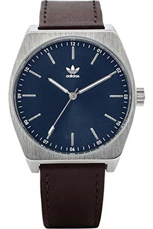 adidas Men's Analogue Quartz Watch with Leather Strap Z05-2920-00