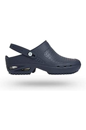 Wock BLOC Open with Strap Clog Navy 38