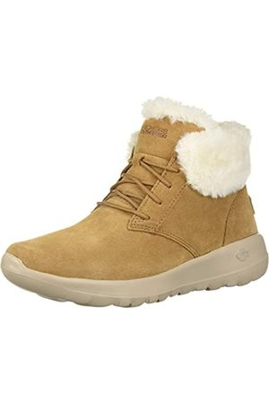 Skechers Women's ON-The-GO Joy Ankle Boots, (Chestnut Suede/Trim Csnt)