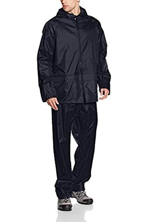 Result Men's Heavyweight Waterproof Jacket And Trouser Set Navy Small
