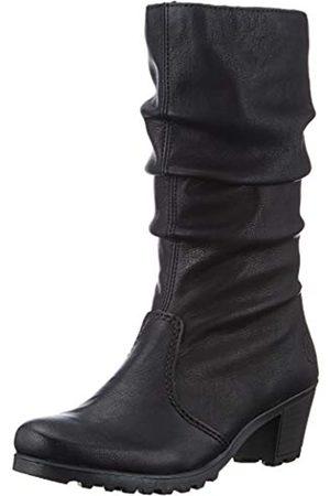 Rieker Women's Herbst/Winter High Boots, (Schwarz / 01 01)