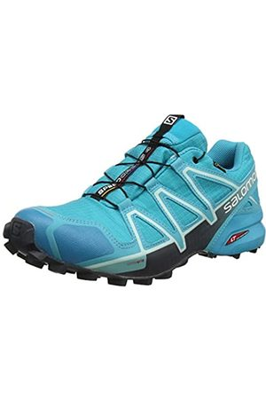 Salomon Women's Trail Running Shoes, SPEEDCROSS 4 GTX W, Colour: (Bluebird/Icy Morn/Ebony)