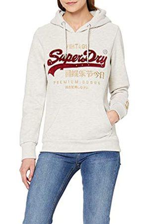 Superdry Womens Premium Goods Herringbone Hoodie