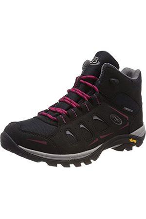 Bruetting Women Shoes - Women's Mount Frakes High Rise Hiking Shoes, (Schwarz/ Schwarz/ )