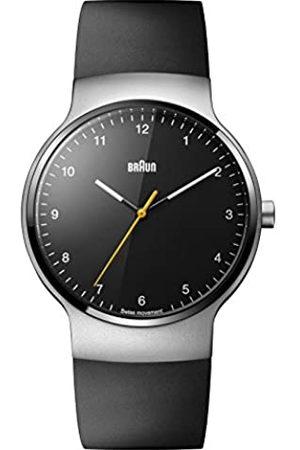 von Braun Unisex Quartz Watch Analogue Display and Rubber Strap BN0221BKSLBKG