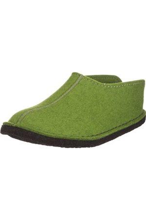Haflinger Unisex Adults' Smily Open Back Slippers , (Grass 36)