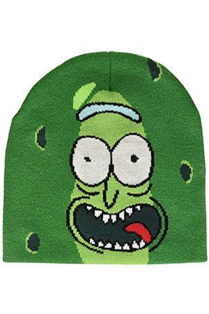 Bioworld Men's Morty Pickle Rick Face Cuffless Beanie