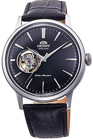 Orient Mens Analogue Automatic Watch with Leather Strap RA-AG0004B10B