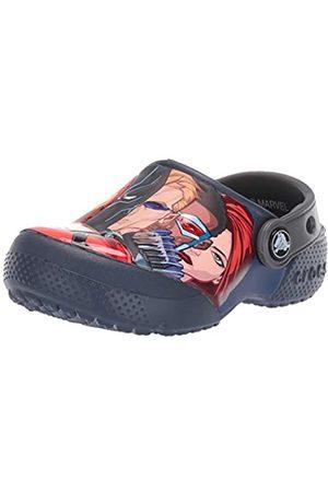 Crocs Unisex Kid's FunLab Marvel Multi Clog, (Navy 410)
