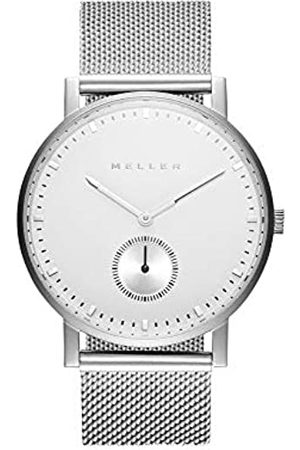 Meller Unisex Adult Analogue Quartz Watch with Stainless Steel Strap 2P-2