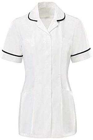 Dream Ladies Round Collar Front Fastening Nurse Health Care Tunic (8)