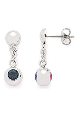 Leonardo Jewels JEWELS BY LEONARDO women earrings Pallottola stainless steel/ colored glass pink blue 016392