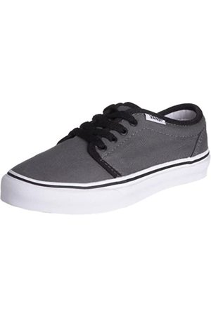 Vans Junior 106 Vulcanized Skate Shoe Canvas Pewter/ VKV3PBQ 12.5 Child UK