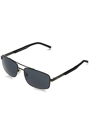 Tommy Hilfiger Men's TH 1674/S Sunglasses, Dark Ruthenium-matt