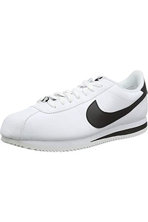 Nike Men's Cortez Basic Leather Shoe Trail Running, ( / /Metallic 100)