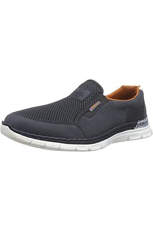 Rieker B4870, Men's Loafers, (Denim/atlantis/weiss / 14)