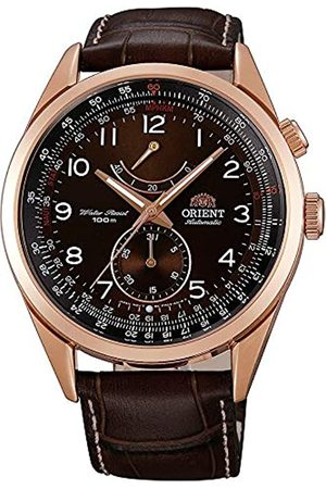 Orient Mens Analogue Automatic Watch with Leather Strap FFM03003T0