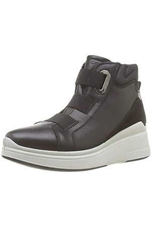 Igi&Co Women's Donna-41418 Hi-Top Trainers, (Nero 4141800)