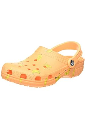 Crocs Unisex Adult's Classic Vacay Vibes Clog, (Cantaloupe 801)