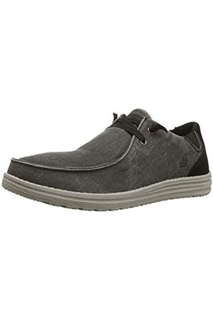 Skechers Men's MELSON Raymon Trainers, ( Canvas Blk)