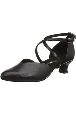 Diamant Women's Damen Tanzschuhe Ballroom Dance Shoes, (Schwarz)