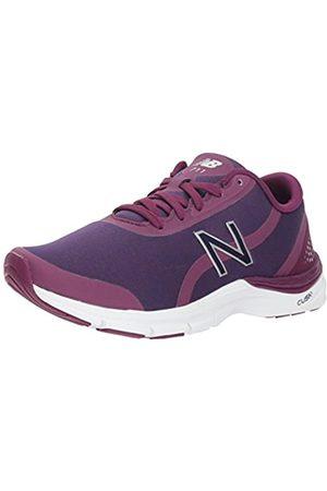 New Balance Women's 711v3 Fitness Shoes, (Claret/Wild Indigo Metallic Jc3)