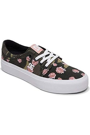 DC Shoes Women's Trase Tx Se Low-Top Sneakers, (Camo CMO)