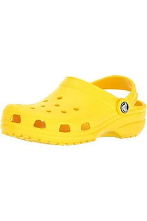 Crocs Kids' Classic Clog, (Lemon)