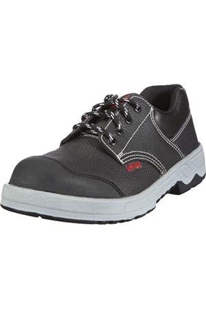Dummy Brand Code VG DE Lico Worker Low, Men's Safety Shoes, (Schwarz/grau/rot)