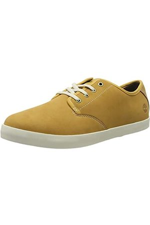 Timberland Women's Dausette Leather Oxford Low-top Sneakers, (Wheat Nubuck)