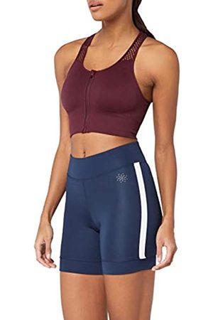 AURIQUE Amazon Brand - Women's Side Stripe Cycling Shorts, 12