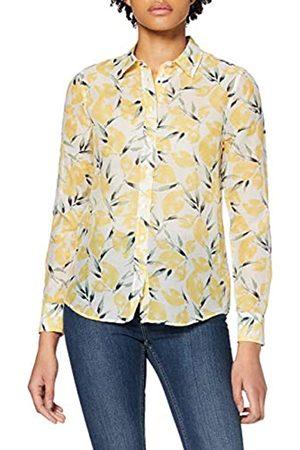 GANT Women's D2. Lemon Cotton Silk Shirt Blouse