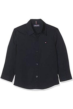 Tommy Hilfiger Boy's Solid Stretch Poplin Shirt L/s Blouse
