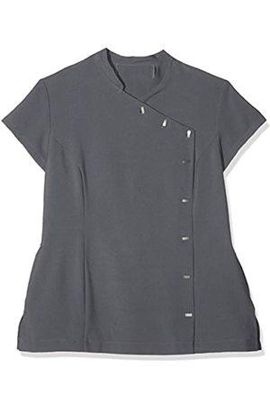 Workwear World Jazzi Beauty Therapist Salon Uniform Tunic with Pockets - Charcoal (16)