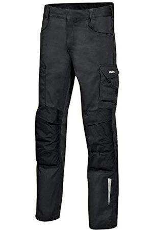 Uvex Synexxo Work Trousers - Safety Cargo Pants with Knee Pad Pockets and Reflective Elements