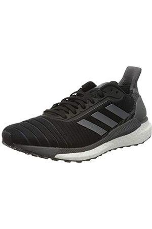 adidas Women's Solarglide 19 Road Running Shoe, Core / /Cloud
