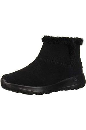 Skechers Women's ON-The-GO Joy-Bundle UP Ankle Boots, ( Suede BBK)