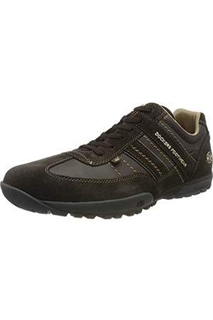 Dockers Men's 36ht001 Low-Top Sneakers, Schoko 370