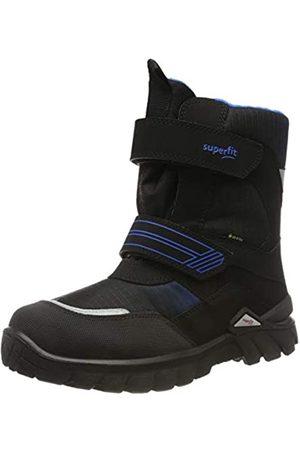 Superfit Boys' Pollux Snow Boots, (Schwarz/Blau 01)