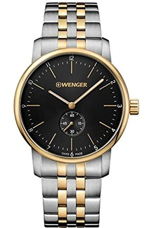 Wenger Urban Classic Stainless Steel Analogue Quartz Watch Silver/Gold 01.1741.104