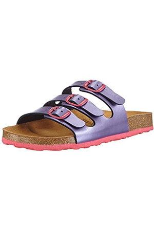 LICO Girls' Bioline Kids Slippers, (lila/ )