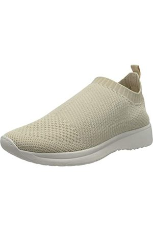 Vagabond Women's Cintia Slip On Trainers, (Cream 04)
