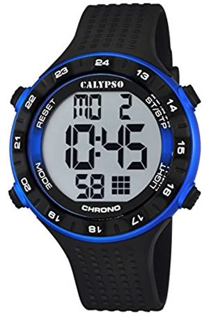 Calypso Unisex Digital Watch with LCD Dial Digital Display and Plastic Strap K5663/2